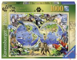 Ravensburger Howard Robinson: A vadon élő állatok világa 1000 db-os (19385)