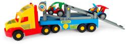 Wader Szuper kamion 2 homokfutóval - 78cm