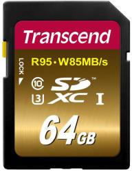 Transcend SDXC U3X 64GB UHS-I TS64GSDU3X