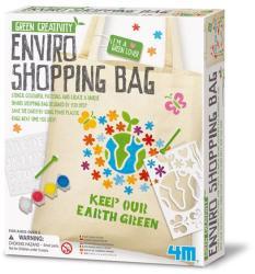 4M Green Creativity - Környezetbarát bevásárló táska készítő készlet