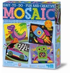 4M Mozaikkép készítő 4 képpel - fiús szett