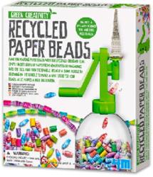 4M Green Creativity - Papír újrahasznosító gyöngykészítő készlet