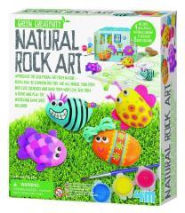 4M Green Creativity - Kavics festő készlet