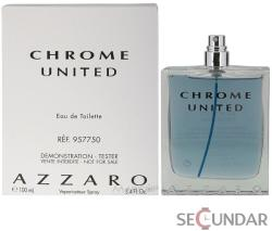 Azzaro Chrome United EDT 100ml Tester