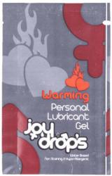 JoyDrops Warming, melegítő hatású síkosító 5 ml