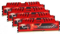 G.SKILL 8GB (4x2GB) DDR3 1600Mhz F3-12800CL9Q-8GBXL