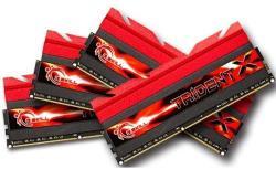 G.SKILL 32GB (4x8GB) DDR3 1866Mhz F3-1866C8Q-32GTX