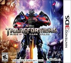 Activision Transformers Rise of the Dark Spark (3DS)