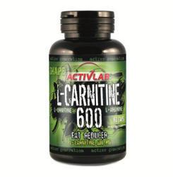 ACTIVLAB L-Carnitine 600 - 60 caps