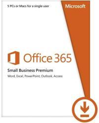 Microsoft Office 365 Small Business Premium 32/64bit Multilanguage (1 User, 1 Year) AAA-04580