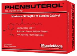 MuscleMeds Phenbuterol - 30 caps