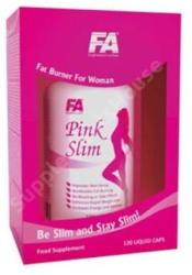 Fitness Authority Pink Slim - 120 caps