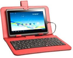 "Tracer Walker Case with micro USB Keyboard 7"" - Red (43698)"