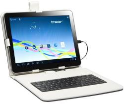 """Tracer Walker Case with micro USB Keyboard 7"""" - White (43701)"""