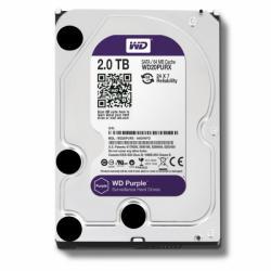 """Western Digital Purple 3.5"""" 2TB 7200rpm 64MB SATA3 WD20PURX"""