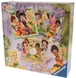 Ravensburger 07193 Zanele Disney 3 Buc In Cutie 25/36/49