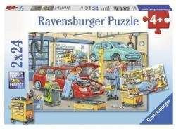 Ravensburger 08855 Vulcanizare Si Benzinarie 2X24