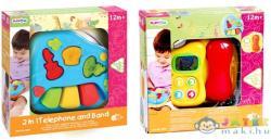 Playgo 2 az 1-ben telefon és hangszerek