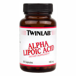 Twinlab Alpha Lipoic Acid - 60db