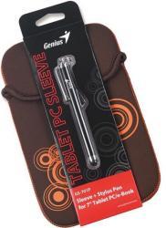 """Genius GS-701P Sleeve 7"""" & Stylus - Brown/Black (39700011101)"""