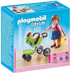 Playmobil Anyuka babakocsival (5491)