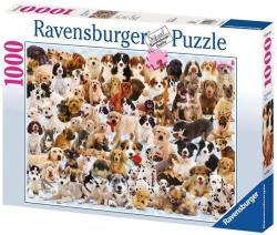 Ravensburger Kutya kollázs 1000 db-os (15633)