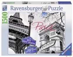 Ravensburger Szerelmem, Párizs 1500 db-os (16296)