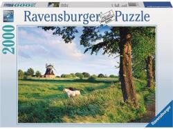 Ravensburger Lovak a szélmalom előtt 2000 db-os (16635)