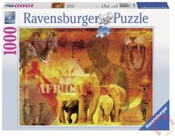 Ravensburger Afrikai hangulatképek 1000 db-os (19366)