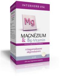 Interherb Magnézium B6-vitaminnal (30db)