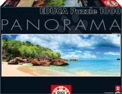 Educa Panoráma Puzzle - Mahe-sziget, Seychelle-szigetek 1000 db-os (15995)