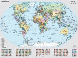 Ravensburger Politikai világtérkép 1000 db-os (15652)