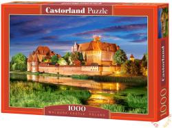 Castorland Malbork Kastély, Lengyelország 1000 db-os