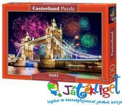 Castorland Tower Bridge, London 500 db-os (B-52028)