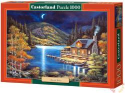 Castorland Holdfényes kunyhó 1000 db-os