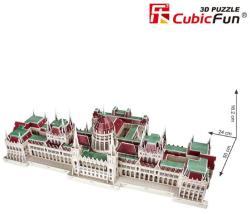 CubicFun 3D Puzzle - A magyar Parlament 237 db-os (MC111H)