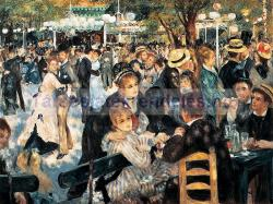 Clementoni Museum Collection - Renoir - Bál A Montmartre-n 1000 db-os (31412)