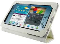 4World Folded Case for Galaxy Tab 2 7.0 - White (09108)
