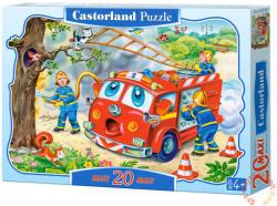 Castorland Tűzoltók akcióban 20 db