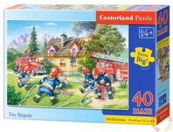 Castorland Maxi Puzzle - A tűzoltócsapat 40 db-os (B-040025)
