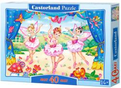 Castorland Maxi Puzzle - Kis balerinák 40 db-os (B-040056)