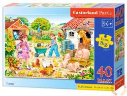 Castorland Maxi Puzzle - Farm 40 db-os (B-040087)