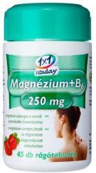 1x1 Vitaday Magnézium+B6-vitamin rágótabletta - 45 db