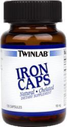 Twinlab Iron Caps (100db)