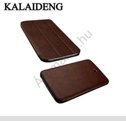 Kalaideng Oscar Book Case for Galaxy Tab 3 7.0 - Dark Brown