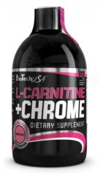 BioTechUSA L-carnitine + Chrome - 500ml