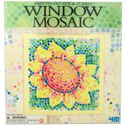 4M Ablakra ragasztható virág mozaikkép készítő
