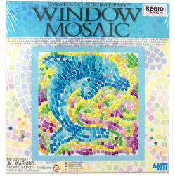 4M Ablakra ragasztható delfin mozaikkép készítő
