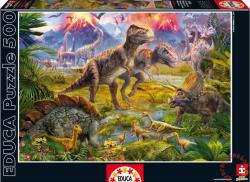 Educa Dinoszauruszok 500 db-os (15969)