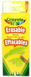 Crayola Színes ceruza radírvégű 10db
